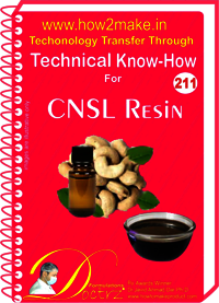 CNSL Resin Technical Know-How Report