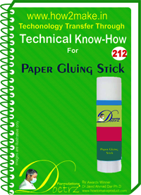 Paper Gluing Stick Technical Know-How Report
