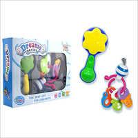 Gift 2pcs Educational Newborn Plastic Infant Toy