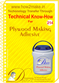 Polywood Making Adhesive Technical Know-How Report
