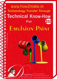 Emulsion Paint Technical Know-How Report