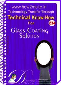 Glass Coating Solution Technical Know-How Report