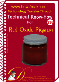 Red Oxide Pigment Technical Know-How Report