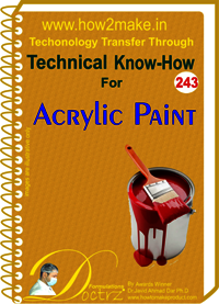 Acrylic Paint Technical Know-How Report