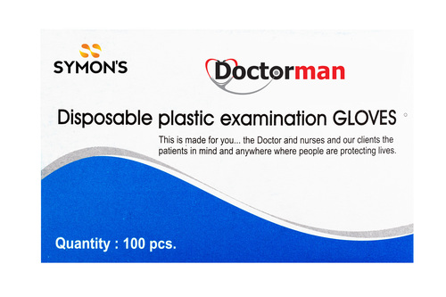 Disposable Plastic Examination Gloves