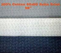 100% Cotton 60x60 Satin Print 58''
