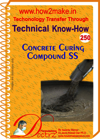 Concrete Curing Compound SS Technical Know-How Report