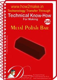 Metal Polish Bar Technical Know-How Report