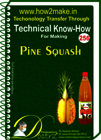 Pine Squash Technical Know-How Report