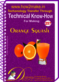 Orange Squash Technical Know-How Report