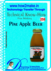 Pine Apple Beer Technical Know-How Report