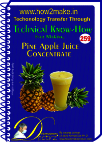 PineApple Juice Concentrate Technical Know-How Report