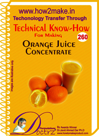 Orange Juice Concentrate Technical Know-How Report
