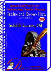 Soluble Cutting Oil Technical Know-How Report