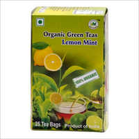 Organic Lemon Mint Green Tea