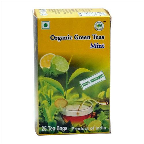 Organic Mint Green Tea