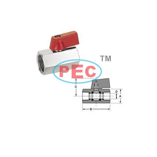 Mini Ball Valve Female X Female