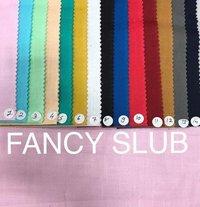 100% Cotton Fancy Slub 58''