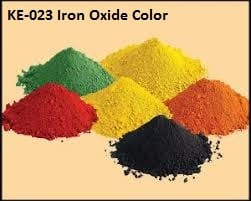 Colored Iron Oxide