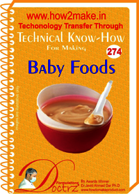 Baby Foods Technical Knowhow Report