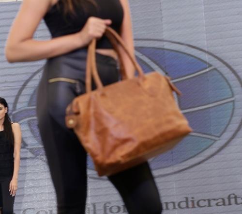 Women Vegan Leather Backpack