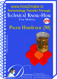 Paver Hardener M Technical Knowhow Report