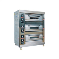 Three Deck Oven - Cap 6 to 9 Tray