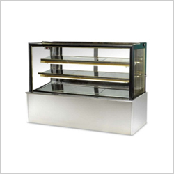 Square Glass Display Counter