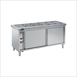 Bain Marie Hot Cold Cap 3 to 12 GN Pan