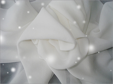 Star Point Chiffon Fabric