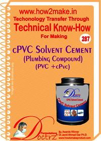 CPVC Solvent Cement Technical know-how Report