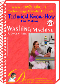 Washing Machine Concentrate Technical knowhow Report