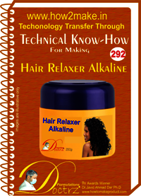 Hair Relaxer Alkaline Technical knowhow Report