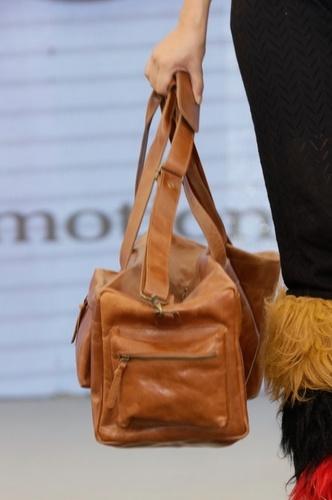 Women Overnight Leather Purse