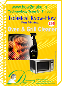 Oven & Grill Cleaner Technical Knowhow Report