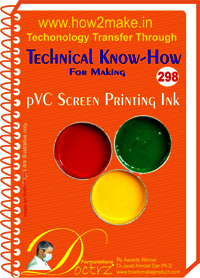 pVC Screen Printing Ink Technical Know-How eReport