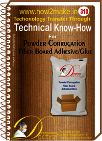 Powder Corrugated Fiber Board Adhesive Technical Knowhow Report