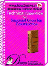 Stuctural Grout for Construction (314 tnhr) Technical knowhow