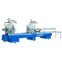 uPVC Window Making Machine - Double Mitre Saw