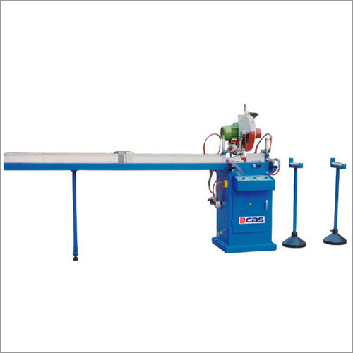 Window Profiles Single Head Cutting Machine
