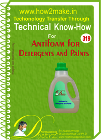 Antifoam for Detergents and Paints Technical Knowhow