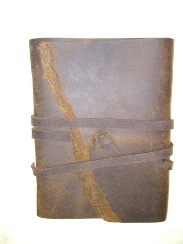 Vintage leather Bound Journal Notebook
