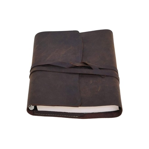 Soft Leather Bound Travel Journal