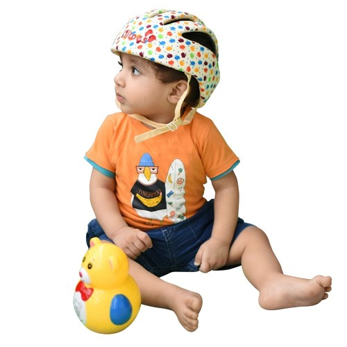 Printed Baby Safety Helmet