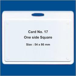 Sticker ID Card Holder