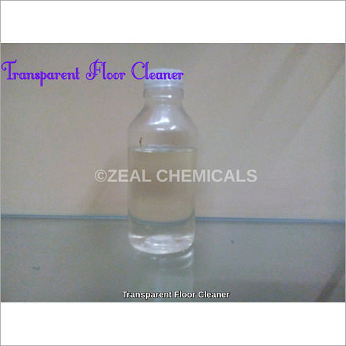 Transparent Floor Cleaner Concentrate