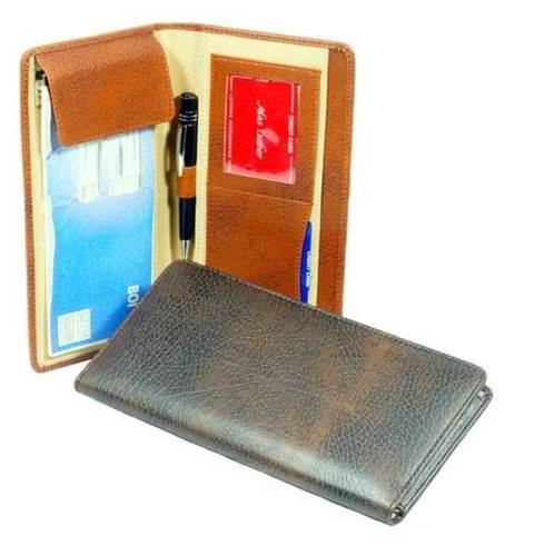 Plain Cheque Book Holder