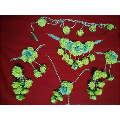 Bridal Artificial Flower Jewellery