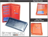 Zipped Passport Holder