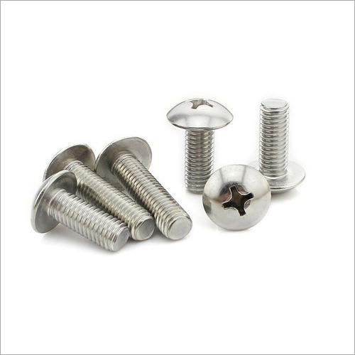 SS Cross Recessed Oval Head Machine Screw